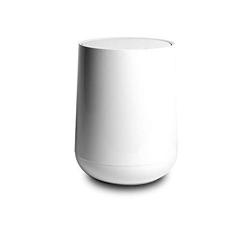 Küche Wohnzimmer WC Doppeldecker Macerate Bins Abfalleimer Mülleimer Menage Küche Mülleimer Bento Lunch Box for Kinder (Farbe: weiß) 1yess (Color : White)