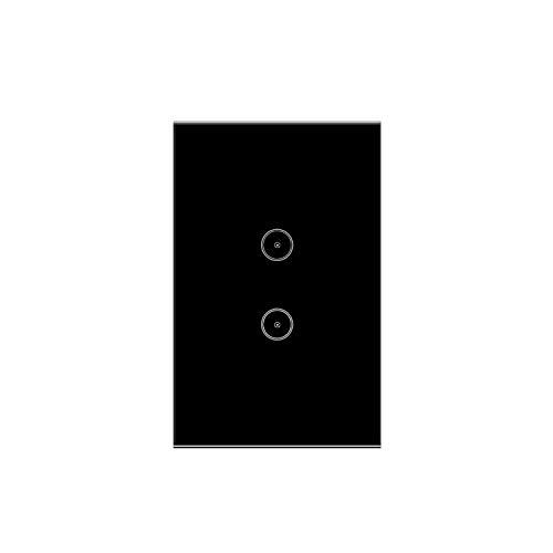 Jinvoo Smart Wall Switch, interruptor de luz inteligente con temporizador, mando a distancia con smartphone, compatible con iOS y Android, Alexa Echo y Google Assistant, certificado CE y RoHS