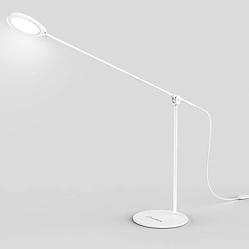 Zanflare 5W Lampade da Tavolo Eleganti, 3 Modalità di Luce, Temperatura Colore Regolabile, Lampada da Scrivania a LED, Lampada a Braccio Orientabile per Casa, Lavoro, Lettura, Studi, ecc