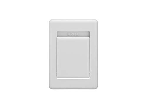 BVC Saugdose Flat-Design Weiß