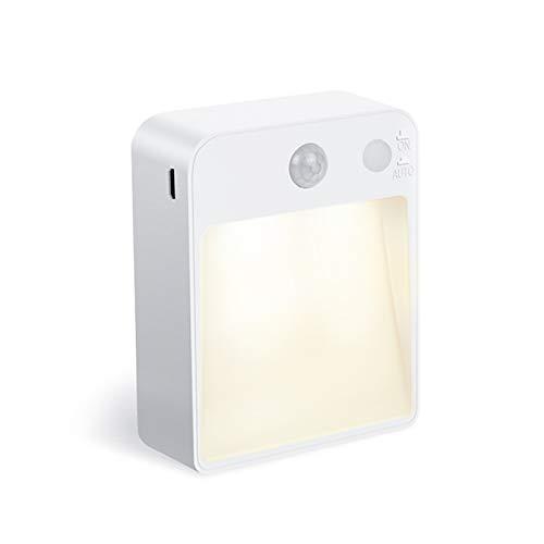 Jnyyjc Night light LED Night Light Lamp With USB Port For Kids Living Room Bedside (Color : 2PCS, Emitting Color : Motion Sonsor)