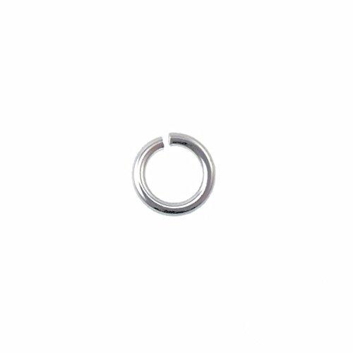 Anneaux de jonction Argent sterling – 6 mm (1.2 mm de diamètre) – 10pk
