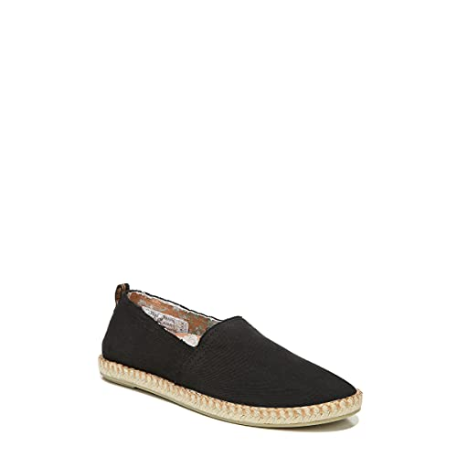 Vionic Beach Laguna Casual Women's Slip On Loafers-Sustainable Espadrilles That Include Three-Zone Comfort with Orthotic Insole Arch Support, Machine Wash Safe- Sizes 5-11 Black 8.5 Medium US