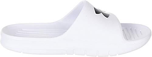 Under Armour Core Pth Slides 3021286-100, Zapatos de Playa y Piscina para Hombre, Blanco (White...