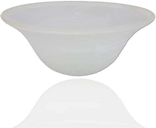 Alabaster White Glass Lamp Shade Replacement for Floor Lamp Lamp Shade fro Floor Lamps Glass product image