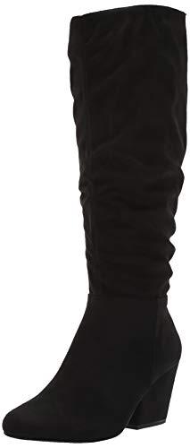 Bella Vita Women's KARENII Mid Calf Boot, Black SPSD, 9.5 W US