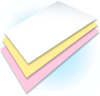 White//Red//Blue//Yellow FirstZi 4 Part 9-1//2x11 Continuous Computer Paper for Tractor Pin-Fed Printer 250 Sets Quadruplication NCR Paper 1000 Sheets 1//2 Margin Letter Trim Perforation 4 Colors