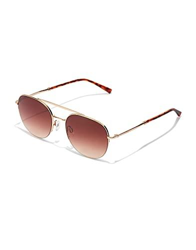HAWKERS Lenox-Gold Terracota Gafas de Sol, Dorado/Carey, One Size Unisex Adulto