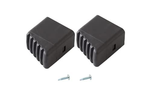 1 Paar Fusskappen schwarz für Leitern Krause 211415