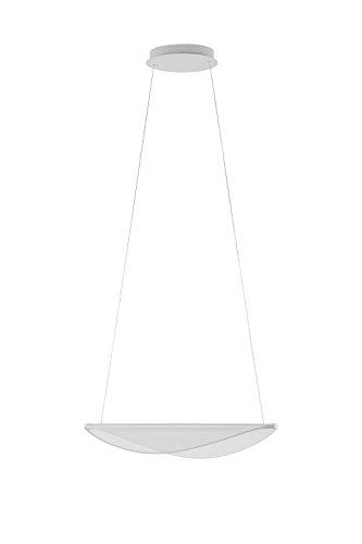 DIPHY_P1 21W Linea light cod. 8172 sospensione BIANCO dimmerabile 3000k 2938lm Ø536mm