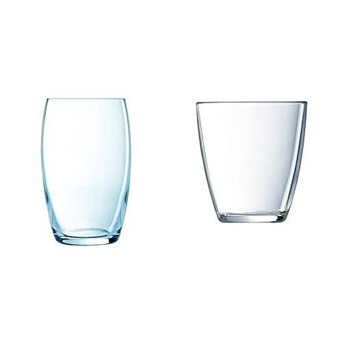 Luminarc Versailles Set 6 Vasos Forma Alta, 37 Cl + Vasos, Set De 6