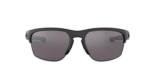 Oakley Herren-Sliver Rand Asian Fit Sonnenbrillen, O, Prizm Grau Matt-schwarz