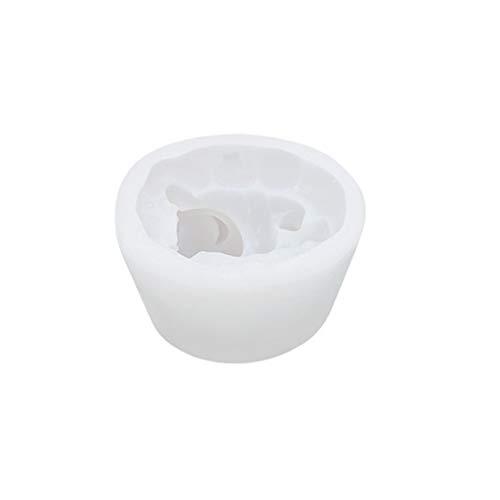 ZJL220 3D Ratón Ratón de silicona vela Forma de Jabón DIY Pasteles Decoración Backform, Como se muestra en la imagen., Como se muestra en la imagen., 8.5x7.5x6.9cm