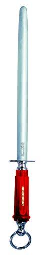 F. DICK Wetzstahl DICKORON classic (30 cm Klingenlänge, Saphierzug, 65°HRC Oberfläche, Kunststoffgriff) 7598330