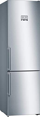 Bosch Hausgeräte KGN39AIDR Serie 6 Freistehende Kühl-Gefrier-Kombination/A+++ / 203 cm / 182 kWh/Jahr/inox-antifingerprint / 290 l Kühlteil / 110 l Gefrierteil/VitaFresh plus/SuperKühlen