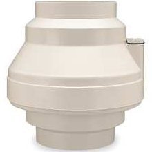 small Centrifugal fan Fantech FR 100, molded housing, 4 inches