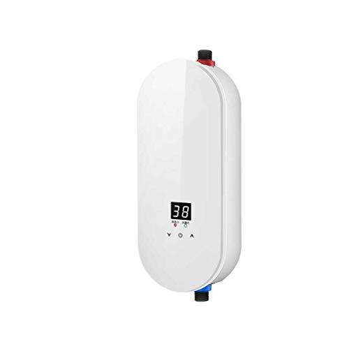 Mini Durchlauferhitzer Warmwasserbereiter, Tankless Sofortiger Durchlauferhitzer, Energie sparen, Keine Skalierung, IPX4...