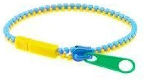ganancia cero Zip Itz Bracelet (amarillo verde verde verde azul - Colors May Vary) by Madam Alexander  mejor moda