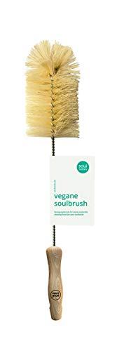 soulbottles soulbrush • Reininungsbürste für Flaschen • Flaschenbürste, natur, vegan, plastikfrei