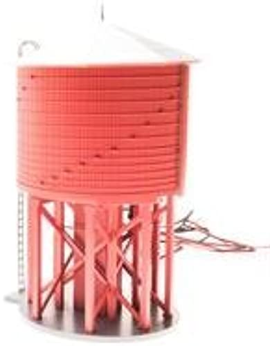 Broadway Limited 6090 HO Painted, Unletterot Operating Water Tower wit by Broadway Limited