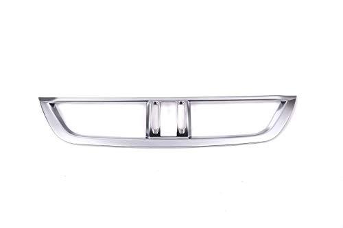Accessoire Auto intérieur de véhicule, pour Giulia 2017, Sortie de Console Centrale Garniture intérieure de Voiture Plastique ABS Placage de Fibre de Carbone chromé argenté, 1 pcs/Set