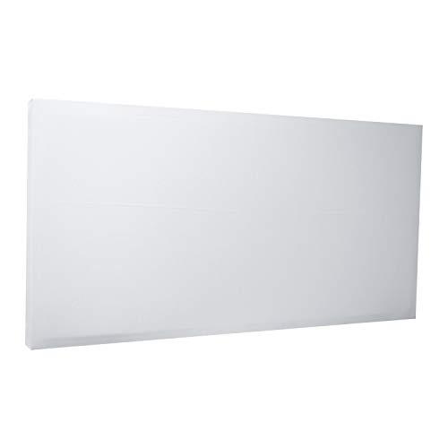 Pannello Fonoassorbente Flat Panel PAN XPS (120x60cm, Bianco Ottico)