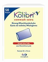 Kolibri comwash extra Waschhandschuh - unfoliert - PZN 01864671 - (1000 Stück)