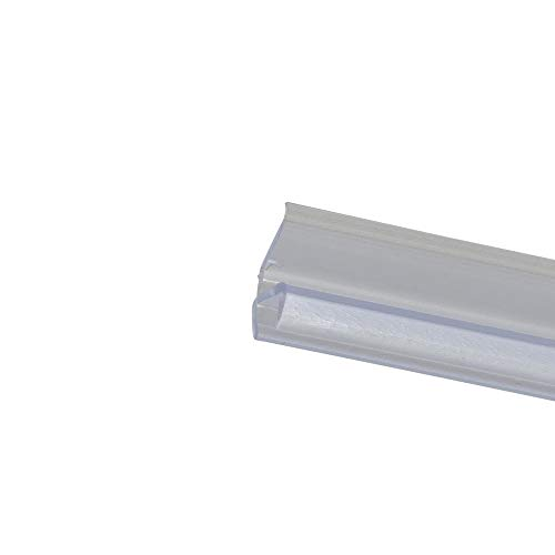 Schulte D2915 Premium Dichtung vertikal/senkrecht für Duschkabine, Transparent