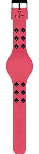 Orologio digitale piccolo ZITTO REBEL DARK in silicone rosa PINKLINK-MINI-LI
