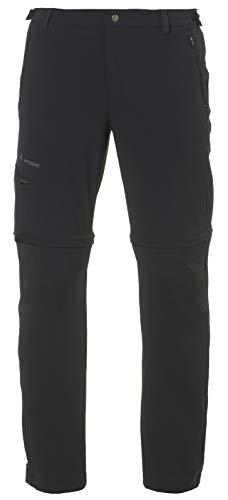 VAUDE Farley Stretch T-Zip II Hose Pantalon pour Homme, Noir, 62-Short