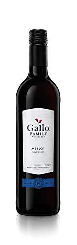 6x 0,75l - 2017er - E. & J. Gallo - Family Vineyards - Merlot - Kalifornien - Rotwein halbtrocken