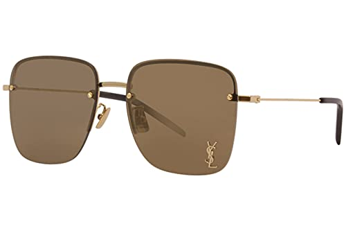 Gafas de Sol Saint Laurent SL 312 M Gold/Brown 58/17/145 mujer
