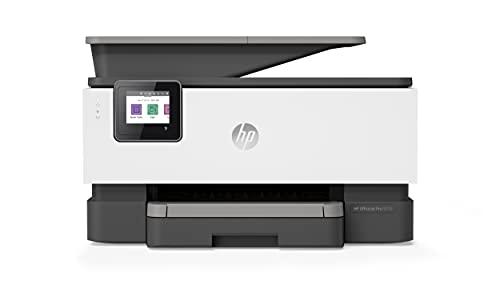 HP OfficeJet Pro 9010 Multifunktionsdrucker (HP Instant Ink, A4, Drucker, Scanner, Kopierer, Fax, WLAN, LAN, Duplex, HP ePrint, Airprint, mit 1 Probemonat HP Instant Ink Inklusive) Basalt