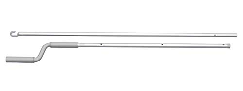 VELUX ZCT 300 Skylight 6-10 Ft. Manual Telescoping Control Rod for Operation of Venting Skylights