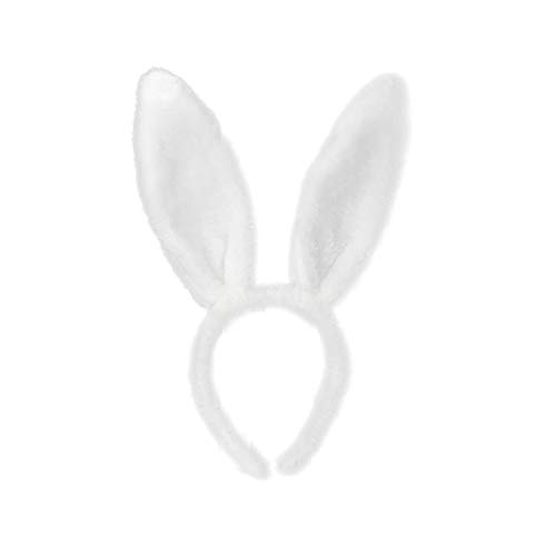 Pascua Adulto Niños Lindo y Cómodo Diadema De Pelo Oreja De Conejo Diadema Vestido De Disfraz De Conejo Oreja Diadema Accesorios Para El Cabello F