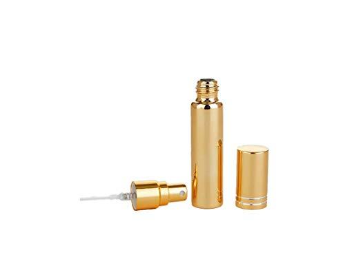 KINGDUO 10Ml Électrolytique UV Verre Voyage Parfum Bouteilles Atomiseur Portable Spray Rechargeable Récipient-Or