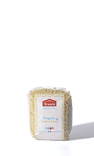 Brundu   Fregola Tostata geröstete Kugelpasta 500 g