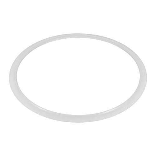 Anneau d'étanchéité en silicone transparent, joint autocuiseur sitram, Remplacement clair Joint silicone Anneau d'étanchéité for maison Autocuiseur outil cuisine (Inner diameter: 26cm)