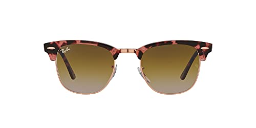 Ray-Ban Rb3016 Clubmaster, Gafas Hombre, Pink Havana