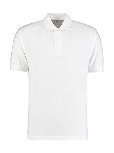 Kustom Kit Klassic Polo avec Superwash 60°C - Blanc - L