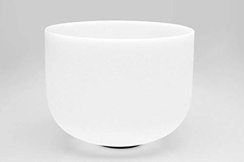 Musical Instruments Crystal Singing Bowl D Note Sacral Chakra 10 Inch With Free Suede Striker And O Ring