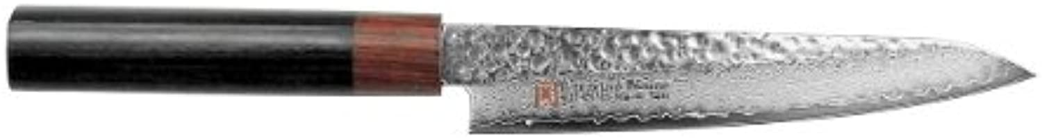 SETO Japanese Chef Knives  Damascus Forged Steel from World Famous Seki, Japan (I-2  150m  m  Petty Knife)