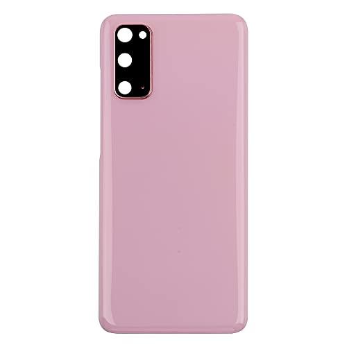 Vvsialeek Tapa trasera compatible con Samsung Galaxy S20 SM-G980 SM-G980F SM-G980F/DS, color rosa