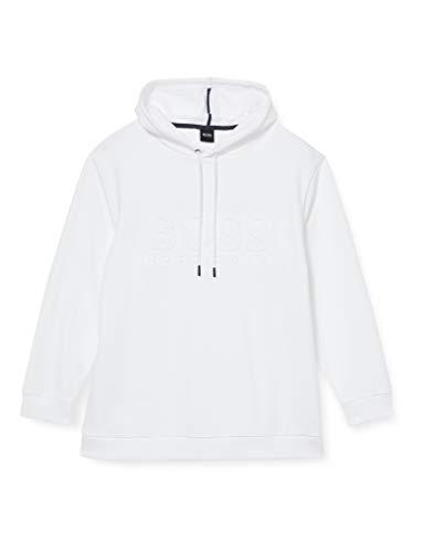 BOSS Herren Heritage Sweats. H. Sweatshirt, White100, L