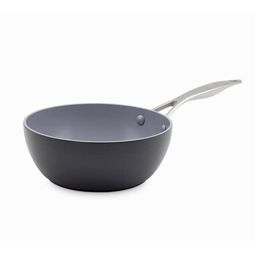 Greenpan, Torino wok antiadhésif en céramique - 28 cm, Noir