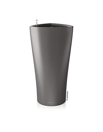 LECHUZA Delta 40 Premium, anthrazit metallic Komplettset