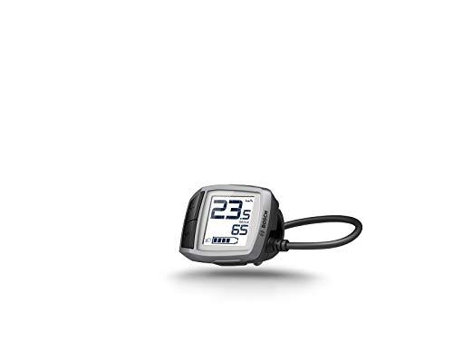 Bosch purion Pantalla con Unidad de Control integrada, Incluye Pantalla Plana y Cable Bicicleta Ordenador, Platinum, One Size