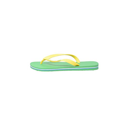Ipanema Herren Classica Brasil II HOM Zehentrenner, Green Yellow, 45/46 EU
