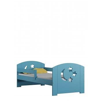 Children's Beds Home - Cama individual - Lily For Kids Child Junior - Cama individual - Lily_eBay - 190x90, Turquesa, No, 10 cm de espuma y fibra de coco