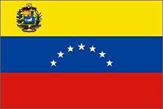 """12x18 Wholesale Lot 3 Colombia Country Stick Flag 30/"""" wood staff"""